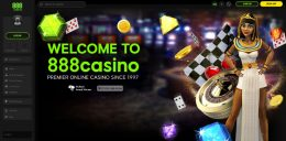 888 Casino Canada preview welcome