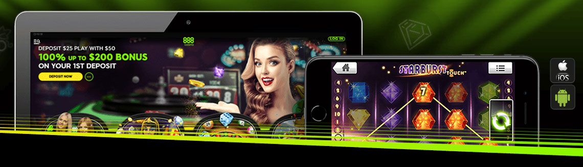 888 casino mobile Canada