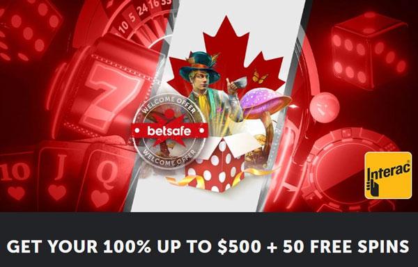 Betsafe Bonus Canada small
