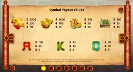 Imperial Riches preview payouts