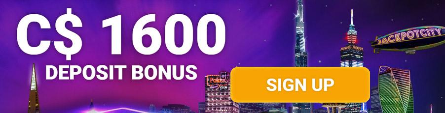 Jackpot City Bonus Canada