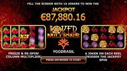 Joker Millions preview jackpot