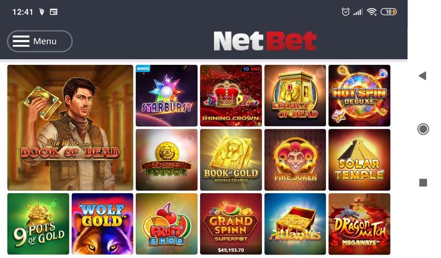 Mobile Casino Games App