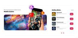 Spin Casino Canada preview mobile