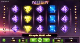 Starburst preview slot